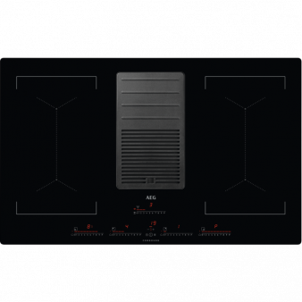 Plīts Virsma ar Tvaika nosūcēju AEG IDK84453IB