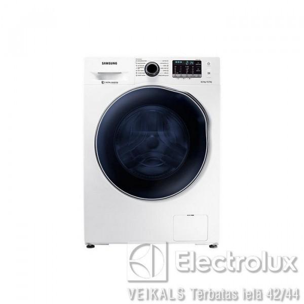 Veļas Mazgājamā Mašīna Ar Žāvētāju Samsung WD80J5430AW