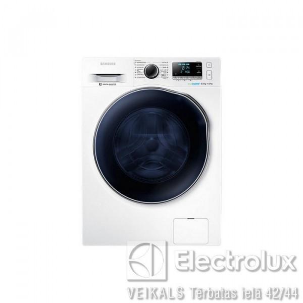 Veļas Mazgājamā Mašīna Ar Žāvētāju Samsung WD80J6410AW