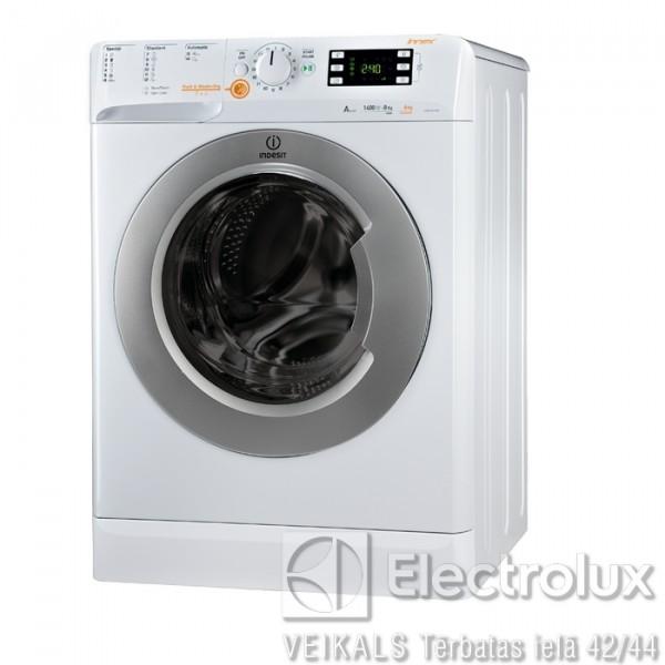 Veļas Mazgājamā Mašīna Ar Žāvētāju INDESIT XWDE 861480X WSSS EU