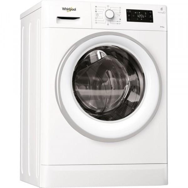 Veļas Mazgājamā Mašīna Ar Žāvētāju Whirlpool FWDG96148WS